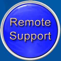 Remote Support Icon, Remote Support, Click For Remote Support